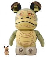 Jabba and Crumb vinylmation figures