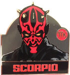 Star Wars - Zodiac Mystery Collection - Scorpio Darth Maul ONLY
