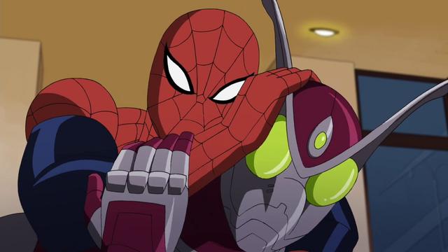 File:Beetle & Spider-Man USM 1.png