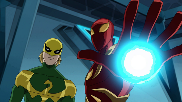 File:Ultimate Iron Fist & Iron Spider USMWW.png