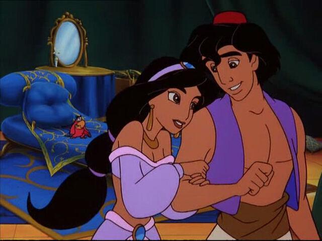 File:Aladdin and Jasmine - The Return of Jafar (2).jpg