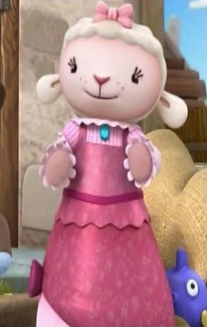 File:Lambie in her 1800s Dress.png