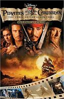 Pirates of the Caribbean Curse of the Black Pearl Cinestory