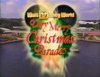 WDW ChristmasParade 1994