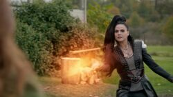 Once Upon a Time - 6x09 - Changelings - Evil Queen Fireball