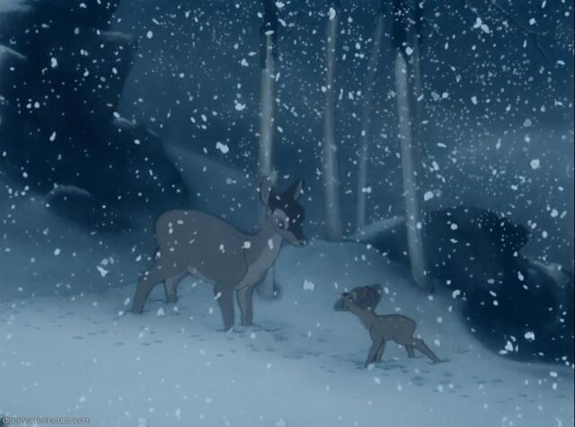 File:Bambi and mother winter.jpg
