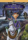 Disney The Adventures of Ichabod and Mr. Toad dvd