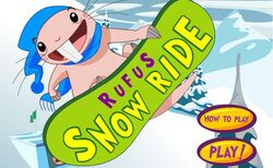 Rufus Snowride Game