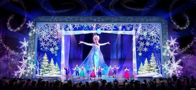 File:Shanghai Disneyland Frozen sing-along.jpg