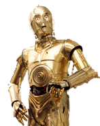 C-3PO Render