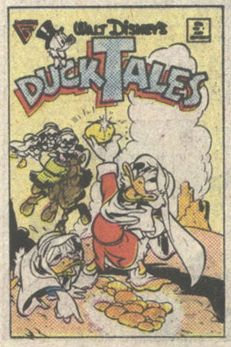 Uncle Scrooge Adventures issue 1 (1987) original cover
