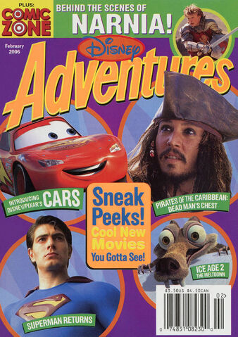 File:Disney Adventures Magazine cover Feb 2006 New Movies.jpg