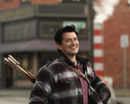Once Upon a Time - 5x17 - Her Handsome Hero - Production Images - Gaston 2
