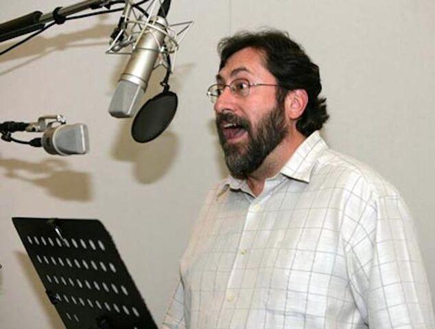 File:Bob Peterson recording booth.jpg