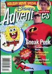 Disney Adventures Magazine cover Dec Jan 2005 Incredibles