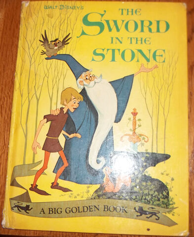 File:The sword in the stone big golden book.JPG
