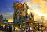 GOTG Tower of Terror Concept Art 03