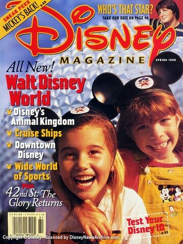 File:Scanned Disney Magazine 1998 Spring.jpg