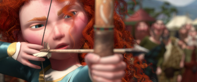 File:Merida poised to shoot an arrow.png