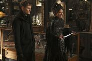 Once Upon a Time - 6x17 - Awake - Photography - Black Fairy and Gideon 2