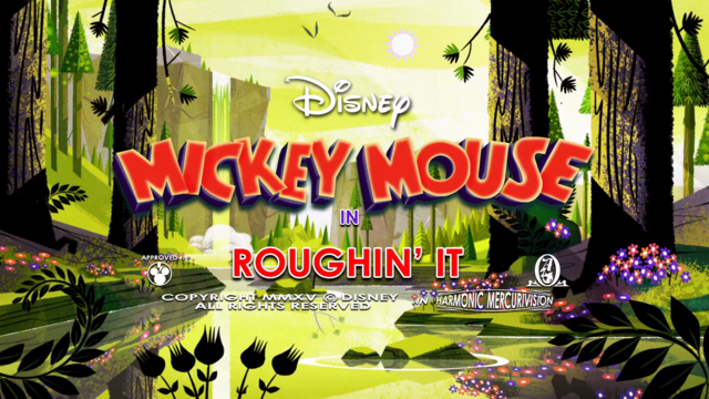 File:Mickey Mouse Roughin' It title ard.png