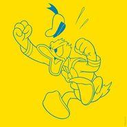 Donald Duck Goin Quackers - Artwork for Installation
