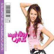 Hannah Montana 2 Meet Miley Cyrus CD Back Cover