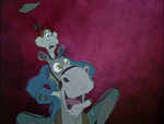 Ichabod and Horse freaked out
