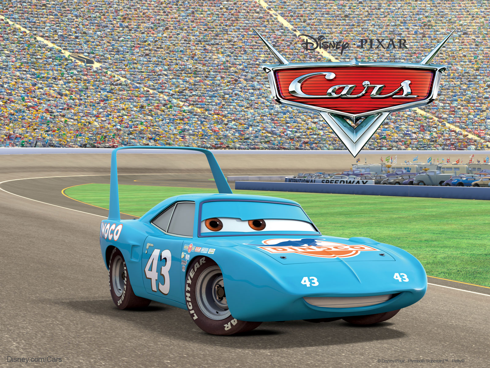 Image king pixar cars disney wiki - Disney cars wallpaper ...