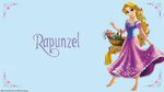 Rapunzel with basket