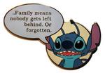 Stitch quote pin