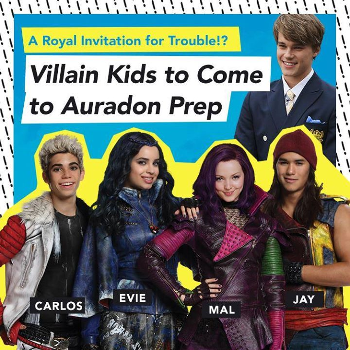 Image Descendants Villain Kids Come To Auradon Prep