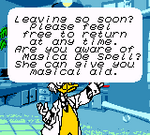Ludwig Mickey's Racing Adventure Dialogue 6