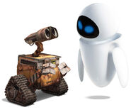 WALL-E and EVE 1