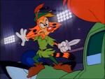Calling All Cars - Bonkers dressed as Peter Pan
