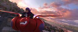 Hiro Baymax Flight