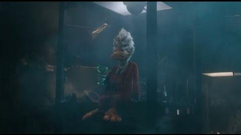 Howard The Duck in Guardians of the Galaxy After Credits Scene