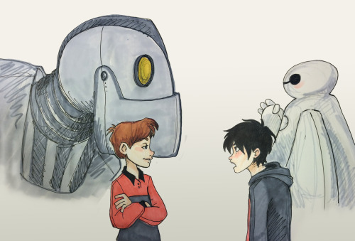 File:SO ADORABLE!!!!!!!!!!!!!!!!!!!!!!!!!!!!!! While it appears that Hiro and Hogarth are having a freindly argument, Baymax and the giant socalize!!!!!!!!!!!!!.jpg