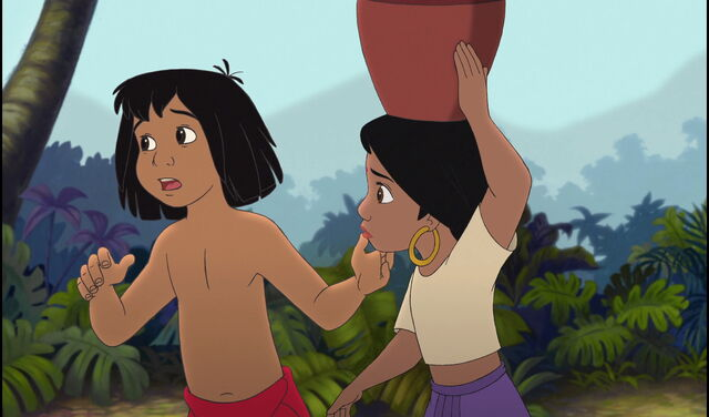 File:Mowgli tells Shanti to wait for a minute.jpg