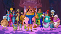 Kronk's New Groove Cast