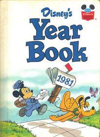 Disney yearbook 1981