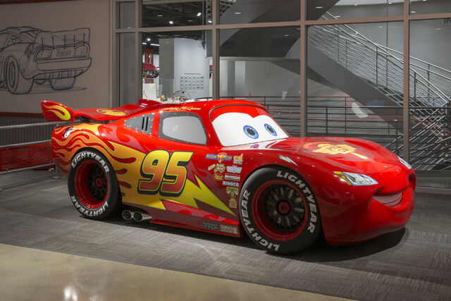 File:Lightning McQueen at the Petersen Automotive Museum.jpg