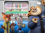 Zootopia Nick Judy Clawhauser banner