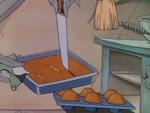Cornbread in The Wise Little Hen
