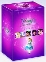 Disney's Heroines Box Set UK DVD 1