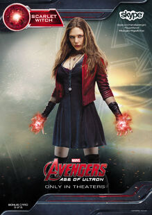 Scarlet Witch AOU Skype Card