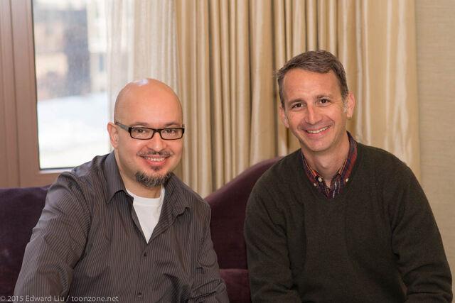 File:Steve Loter with Michael Wigert.jpg