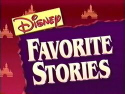 Disney favorite stories logo