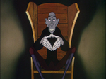 Anton Ego prototype from The Adventures of Ichabod and Mr Toad