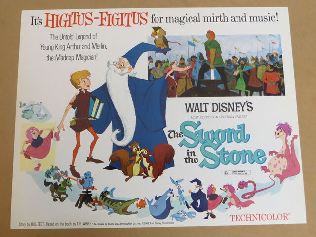 File:The sword in the stone reissue lobby card.jpg